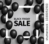 black friday sale banner.... | Shutterstock .eps vector #1030052503
