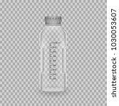 scientific glassware. realistic ...   Shutterstock .eps vector #1030053607