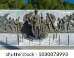 5 feb 2018  ataturk statue in... | Shutterstock . vector #1030078993