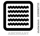 aberrant conceptual graphic... | Shutterstock .eps vector #1030083733