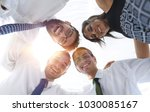 closeup.bottom view.successful... | Shutterstock . vector #1030085167