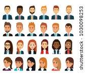 group of businespeople teamwork | Shutterstock .eps vector #1030098253