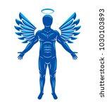 vector illustration of human ... | Shutterstock .eps vector #1030103893