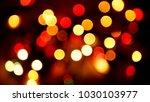 multicolored blurred lights... | Shutterstock . vector #1030103977