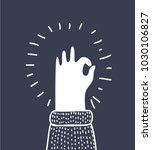 vector cartoon illustration of... | Shutterstock .eps vector #1030106827