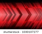 abstract red arrow futuristic...   Shutterstock .eps vector #1030107277