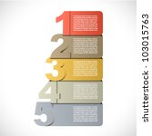 colorful presentations with... | Shutterstock .eps vector #103015763