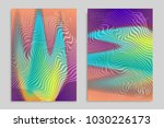 abstract cover template with... | Shutterstock .eps vector #1030226173