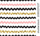 black ink  white  pink and gold ... | Shutterstock .eps vector #1030229137