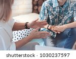 gesturing while talking. scaled ...   Shutterstock . vector #1030237597