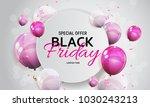 black friday sale banner...   Shutterstock .eps vector #1030243213