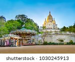 panorama of the famous basilica ... | Shutterstock . vector #1030245913