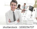 successful businessman on...   Shutterstock . vector #1030256737