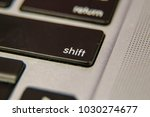 shift lower case upper case... | Shutterstock . vector #1030274677