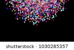 beads background. fashion... | Shutterstock . vector #1030285357