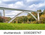 Small photo of Double Arch Bridge at Natchez Trace Parkway near Franklin, TN, fall scenery