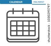 calendar icon. professional ... | Shutterstock .eps vector #1030295797