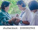 kanchanaburi thailand  ... | Shutterstock . vector #1030302943