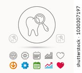 dental diagnostic icon. tooth...   Shutterstock .eps vector #1030307197