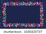 feast vector frame art graphics ... | Shutterstock .eps vector #1030325737