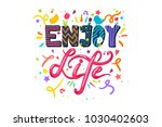 Enjoy Life Lettering Concept...