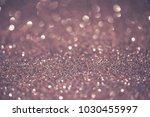 silver glittering christmas... | Shutterstock . vector #1030455997