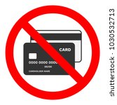 cash only sign. no credit cards ...   Shutterstock .eps vector #1030532713