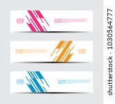 vector abstract design banner... | Shutterstock .eps vector #1030564777