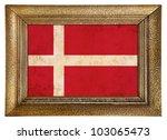 denmar framed flag background   Shutterstock . vector #103065473