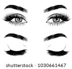 illustration of woman's sexy...   Shutterstock .eps vector #1030661467