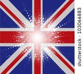 starry union jack flag... | Shutterstock .eps vector #103066883