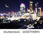 bokeh blurred club and venue...   Shutterstock . vector #1030745893
