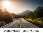 asphalt blurred road and... | Shutterstock . vector #1030753237