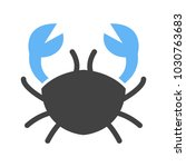 cancer  sign  zodiac | Shutterstock .eps vector #1030763683