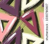vector seamless pattern.... | Shutterstock .eps vector #1030780807