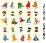 vector illustrations in flat... | Shutterstock .eps vector #1030822957