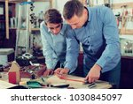 positive greek adult father...   Shutterstock . vector #1030845097