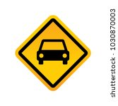 road signs vector | Shutterstock .eps vector #1030870003