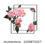 floral design illustration.... | Shutterstock .eps vector #1030873327