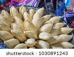 traditional azerbaijan sweet...   Shutterstock . vector #1030891243