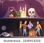 reality quest horizontal...   Shutterstock .eps vector #1030913233
