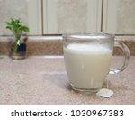 chai tea drink | Shutterstock . vector #1030967383