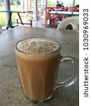 """teh tarik "" malaysia famous... | Shutterstock . vector #1030969033"
