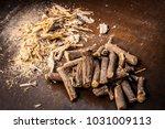 close up of ayurvedic herb... | Shutterstock . vector #1031009113