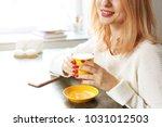 female freelancer concept.... | Shutterstock . vector #1031012503