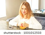 female freelancer concept.... | Shutterstock . vector #1031012533