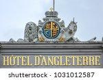 copenhagen  denmark   june 22 ... | Shutterstock . vector #1031012587