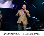 royce mitchell on stage with... | Shutterstock . vector #1031015983