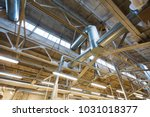 industry  manufacture and... | Shutterstock . vector #1031018377
