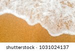 beautiful beach and sea on... | Shutterstock . vector #1031024137